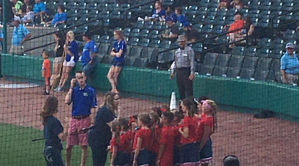 Texas Stars Perform at Astros Game